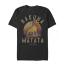Lion King Men's Simba Hakuna Matata  T-Shirt  Black  5XL