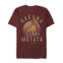 Lion King Men's Simba Hakuna Matata  T-Shirt