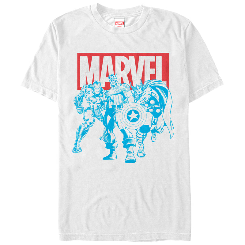 Marvel Avengers Stance Mens Graphic T Shirt