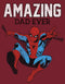 Marvel Men's Spider-Man Amazing Dad  T-Shirt  Cardinal
