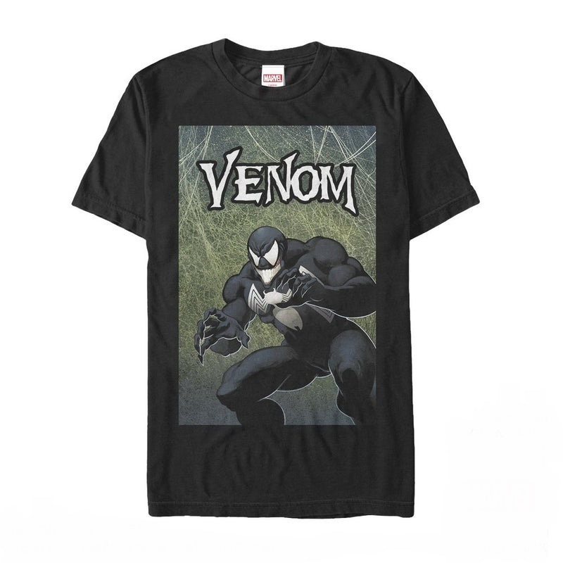 Marvel Venom Smile Mens Graphic T Shirt