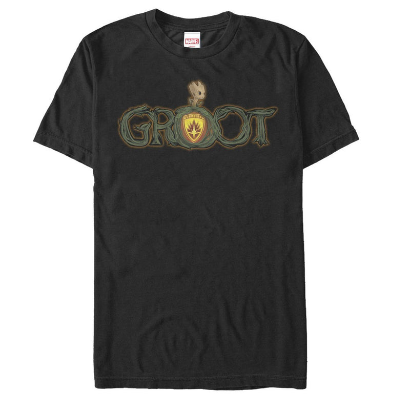 Marvel Guardians of the Galaxy Spooky Groot Mens Graphic T Shirt