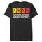 Lost Gods Men's Sarcasm Periodic Table Defense  T-Shirt