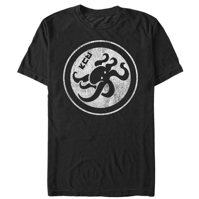 Nintendo Men's Splatoon Octopus Symbol  T-Shirt  Black  S