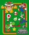 Nintendo Boy's Super Mario Rainbow Frame  T-Shirt  Kelly Green