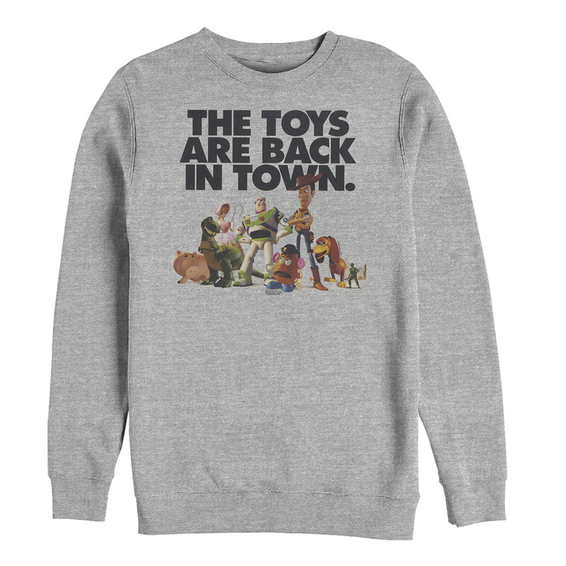 Toy Story Toys Are Back in Town Mens Graphic Sweatshirt