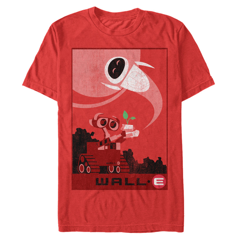 Wall-E Nature Prevails Mens Graphic T Shirt