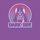Star Wars Girl's Darth Vader Circle  T-Shirt  Purple Berry
