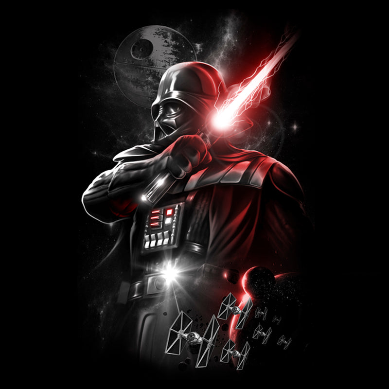 Star Wars Men's Epic Darth Vader  T-Shirt  Black