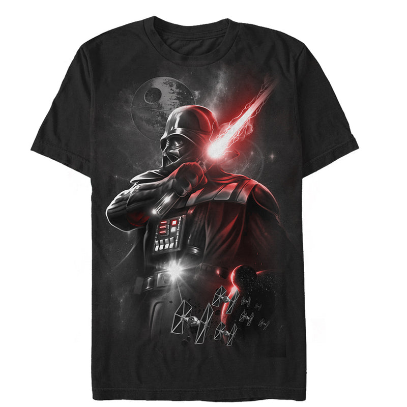 Star Wars Men's Epic Darth Vader  T-Shirt  Black  S