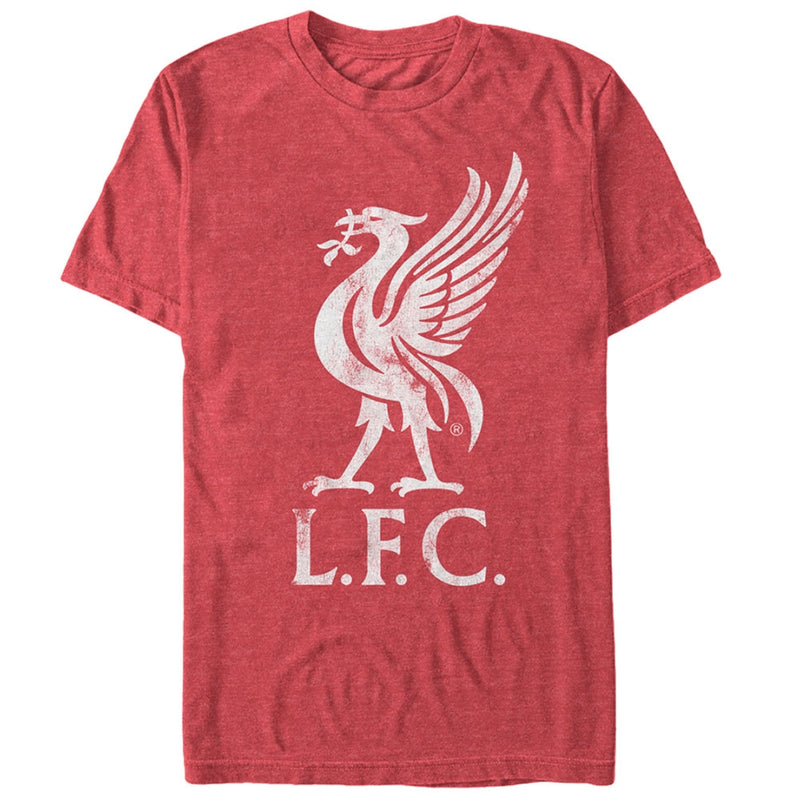 Liverpool Football Club Bird Logo Mens Graphic T Shirt