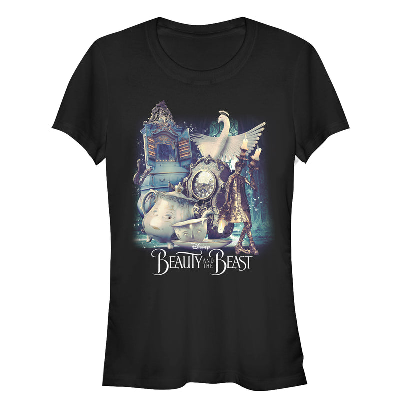 Beauty and the Beast Junior's Movie Cast  T-Shirt