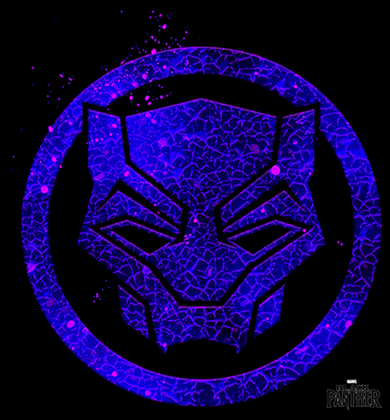 Marvel Boy's Black Panther 2018 Ember Mask  T-Shirt