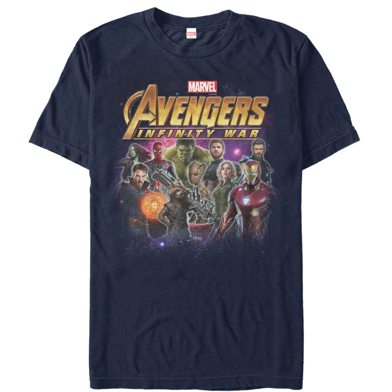 Marvel Avengers: Infinity War Character Shot Mens Graphic T Shirt