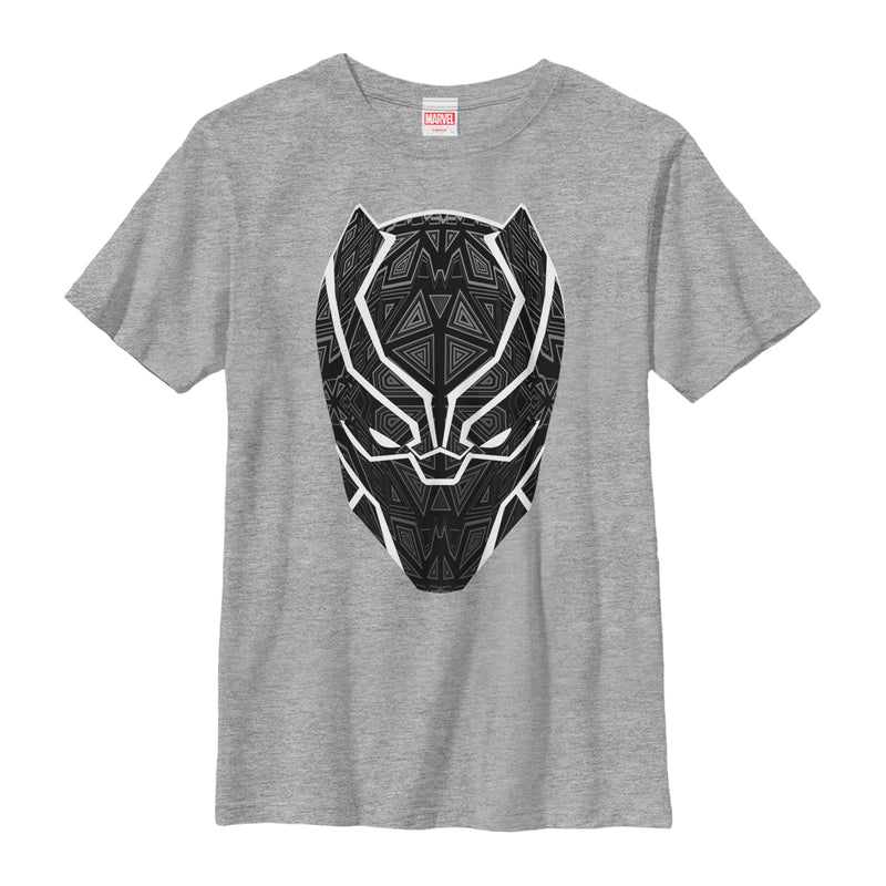 Marvel Black Panther Ornate Mask Boys Graphic T Shirt