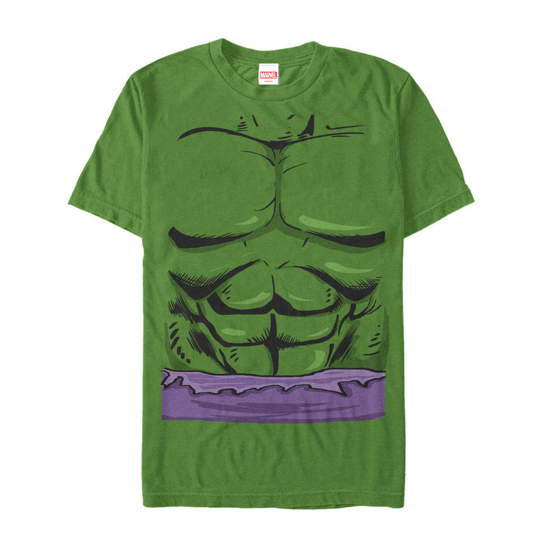 Marvel Men's Halloween Hulk Classic Costume  T-Shirt  Kelly Green  S