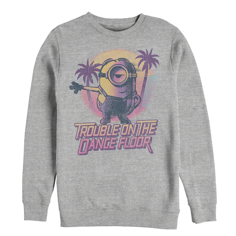 Despicable Me 3 Minions Dance Floor Mens Graphic Sweatshirt