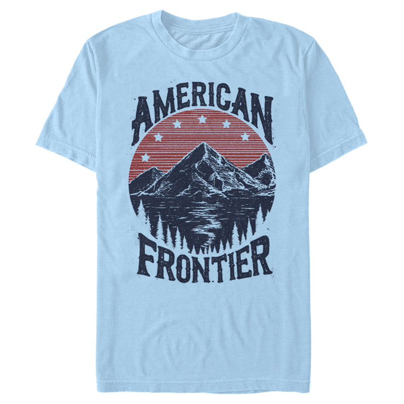Lost Gods American Frontier Mens Graphic T Shirt
