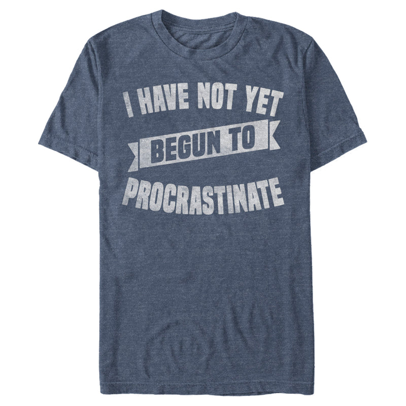 Lost Gods Men's Not Yet Begun To Procrastinate  T Shirt