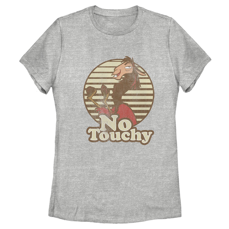 The Emperor's New Groove Kuzco No Touchy Womens Graphic T Shirt
