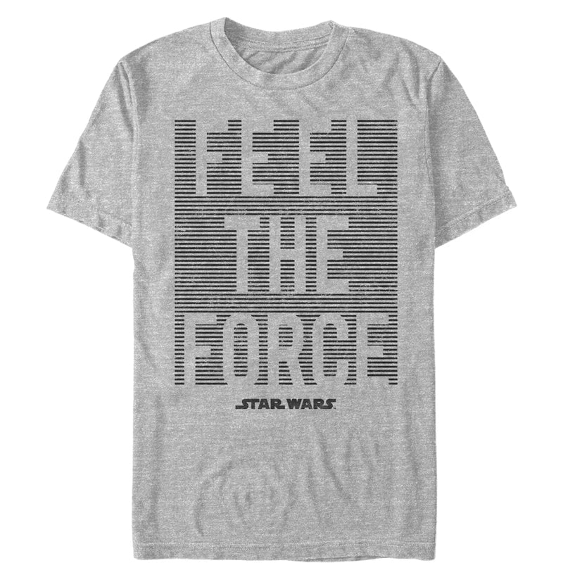 Star Wars Men's Feel Force  T-Shirt  Athletic Heather  M