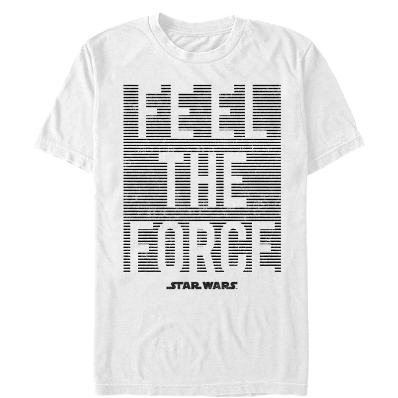 Star Wars Men's Feel Force  T-Shirt  White  M