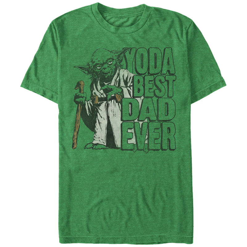Star Wars Father's Day Yoda Best Mens Graphic T Shirt