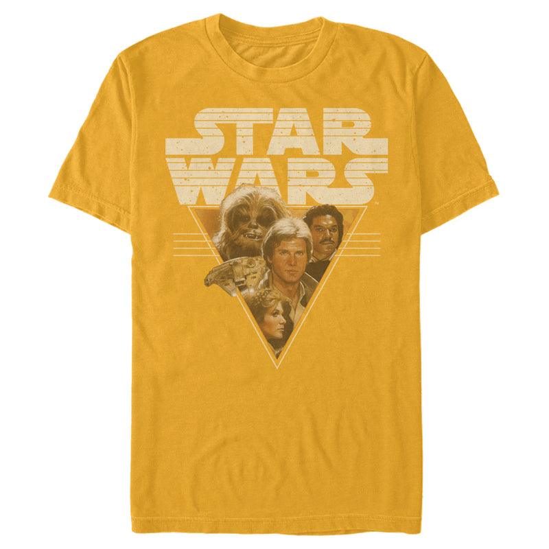 Star Wars Men's Frenemy Triangle  T-Shirt