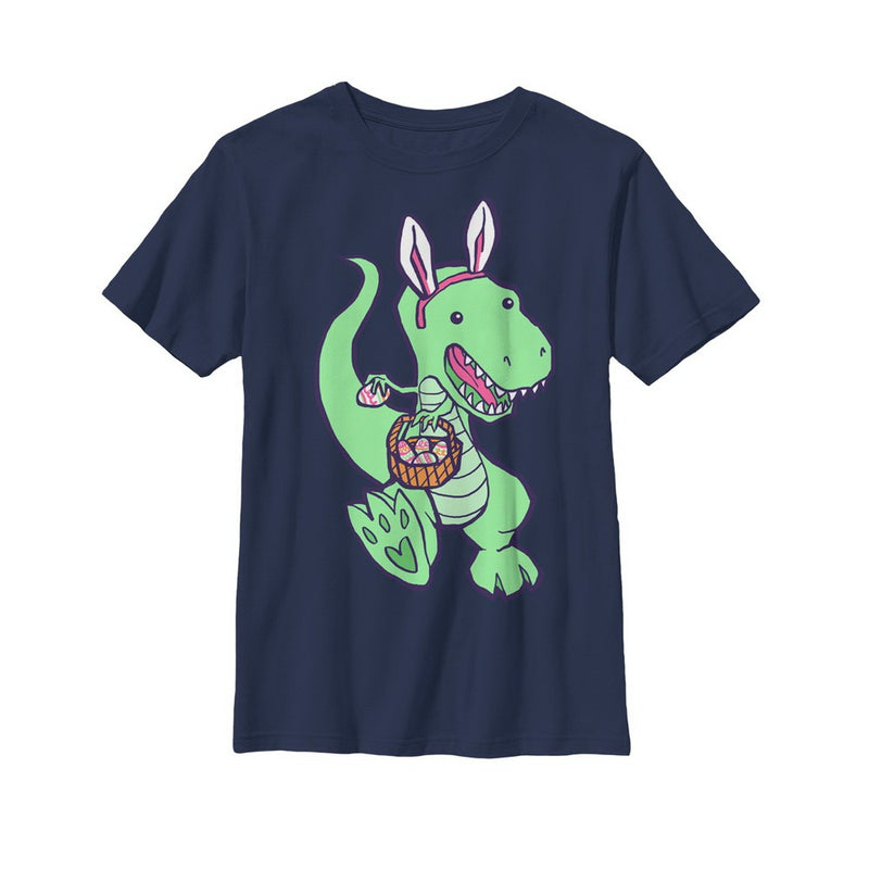 Lost Gods Easter Dinosaur Boys Graphic T Shirt