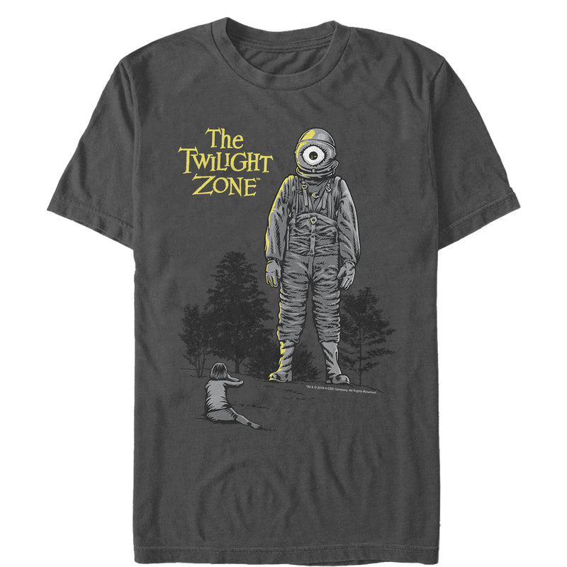 The Twilight Zone The Fear Episode Mens Graphic T Shirt