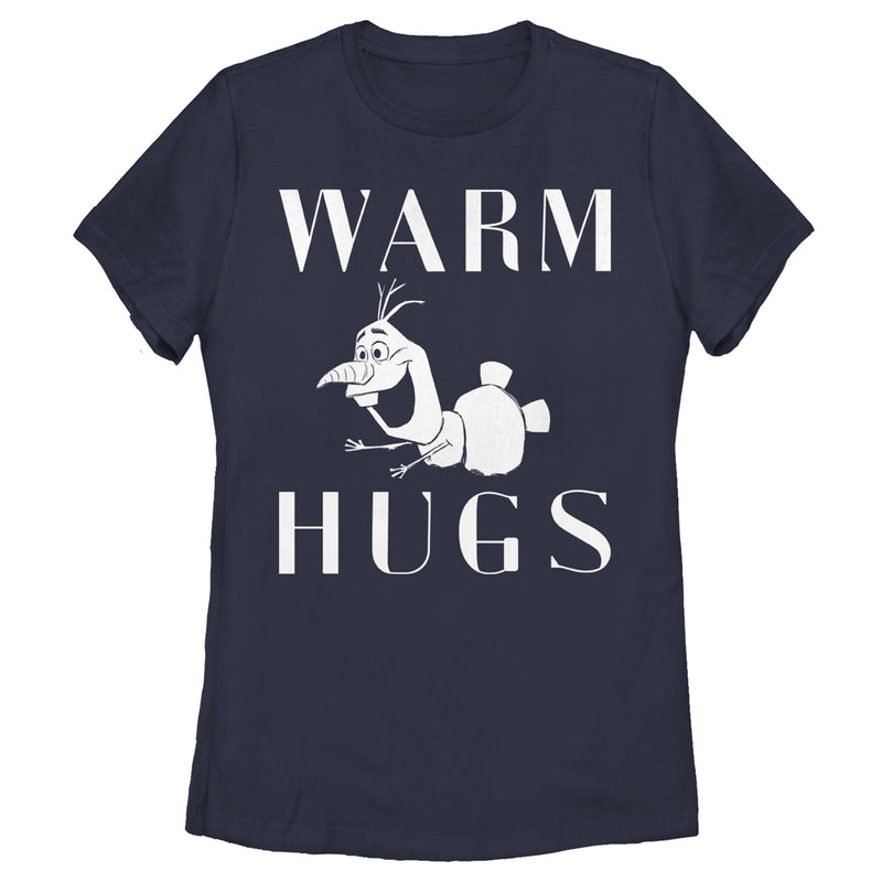 Frozen 2 Olaf Warm Hugs Womens Graphic T Shirt