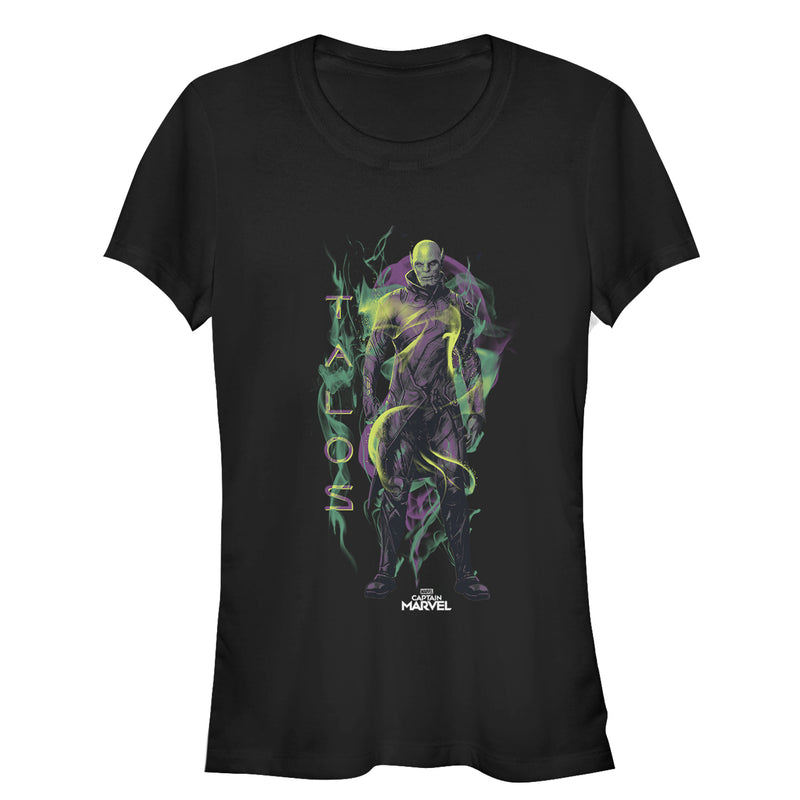 Marvel Captain Marvel Talos Smoke Mens Graphic T Shirt