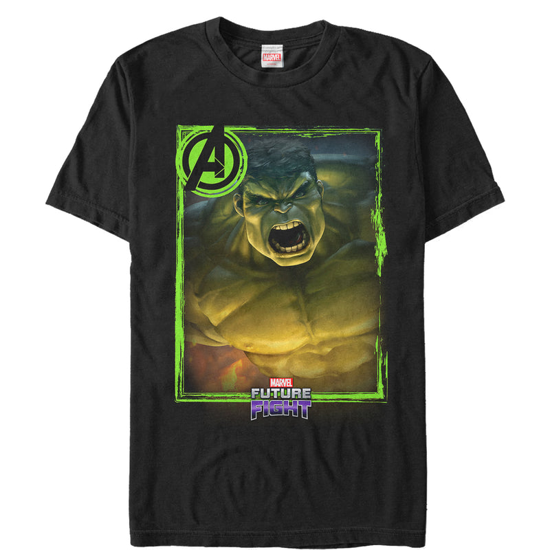 Marvel Men's Future Fight Hulk  T-Shirt  Black  S