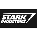 Marvel Men's Stark Industries Iron Man Logo  Long Sleeve Shirt