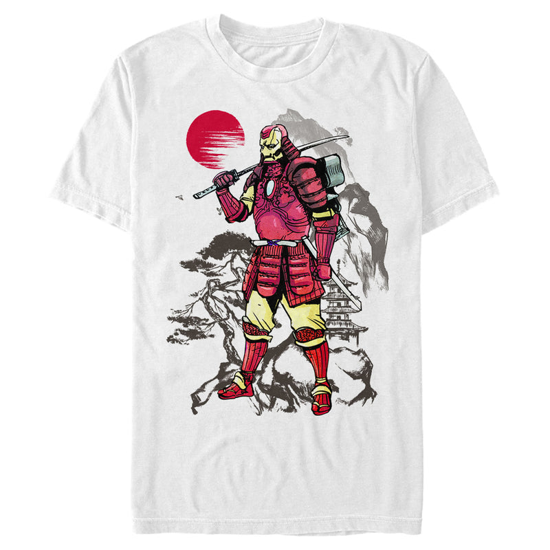 Marvel Iron Man Samurai Warrior Mens Graphic T Shirt