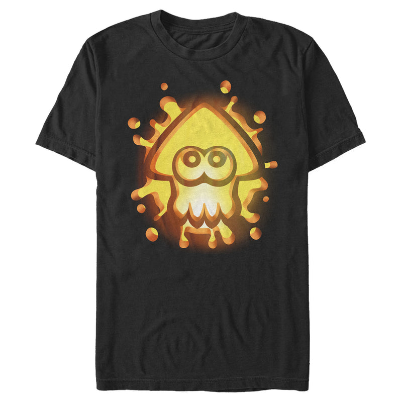 Nintendo Halloween Splatoon Pumpkin Mens Graphic T Shirt
