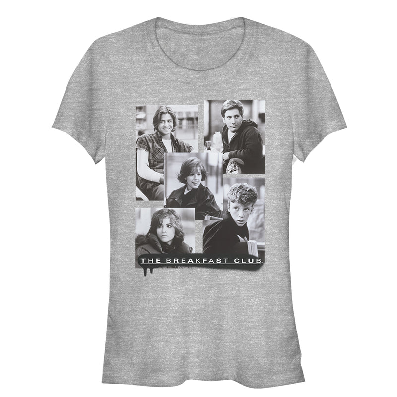The Breakfast Club Junior's Character Photos  T-Shirt  Athletic Heather  M