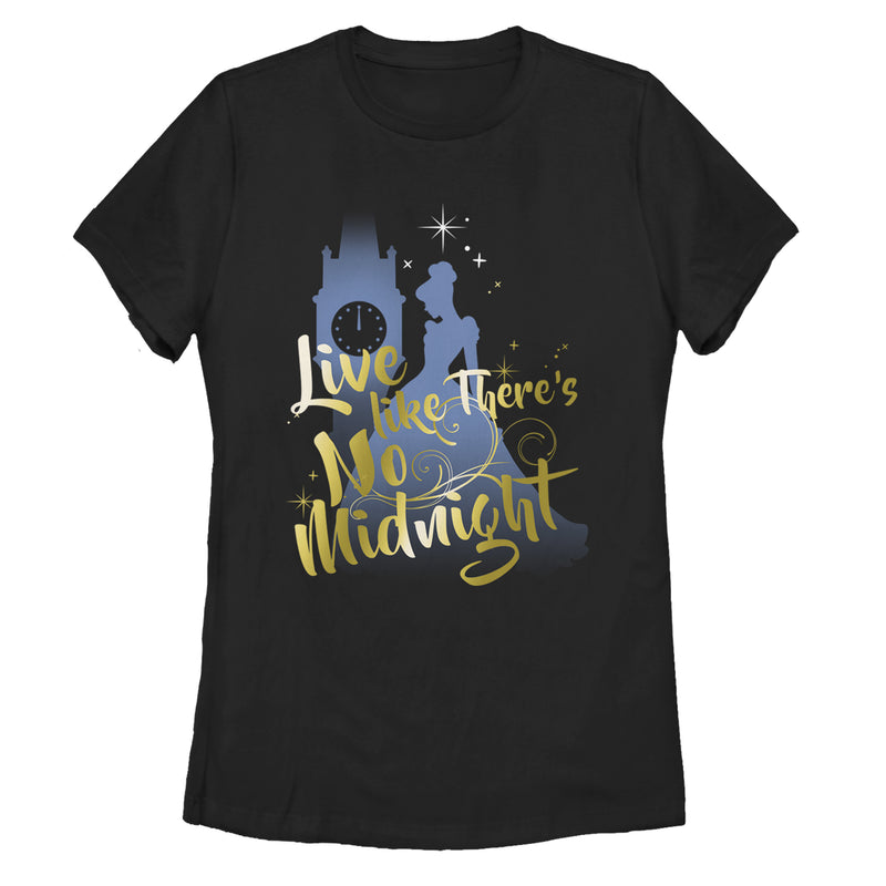 Cinderella Live Like No Midnight Womens Graphic T Shirt