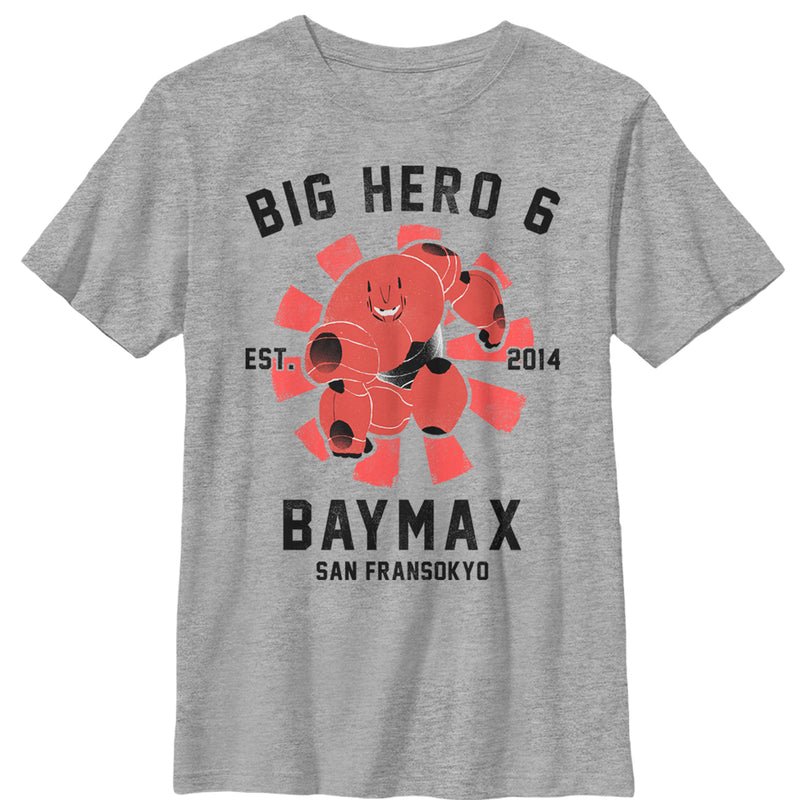 Big Hero 6 Baymax Portrait Boys Graphic T Shirt
