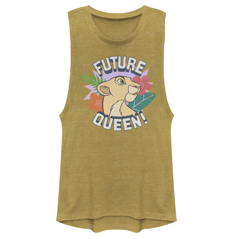 Lion King Nala Future Queen Juniors Graphic Festival Muscle Tee