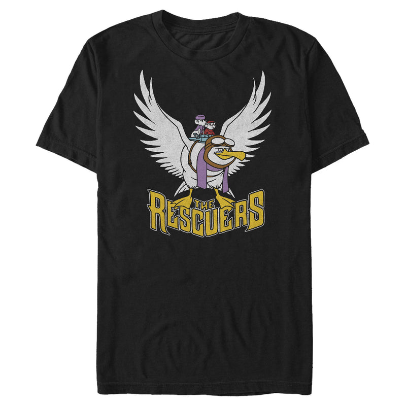 The Rescuers Down Under Wilbur Flight Mens Graphic T Shirt