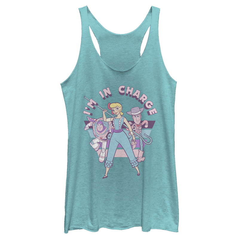 Toy Story 4 Bo Peep In Charge Womens Graphic Racerback Tank