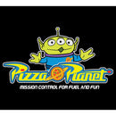 Toy Story Men's Pizza Planet Alien Slogan  T-Shirt