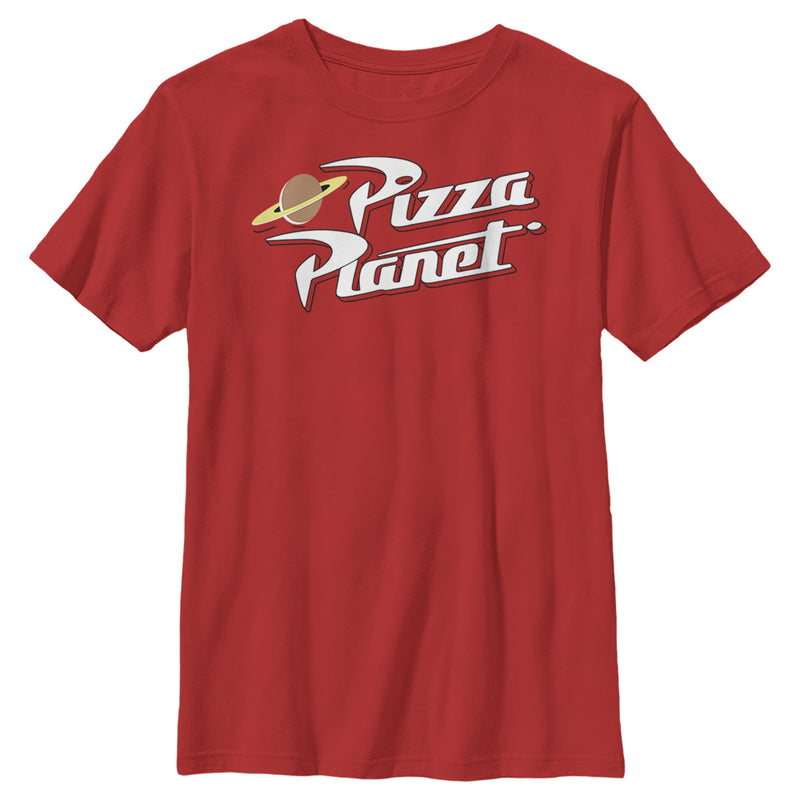 Toy Story Iconic Pizza Planet Logo Boys Graphic T Shirt