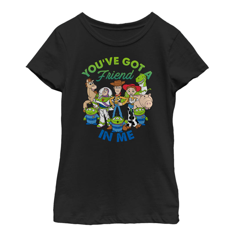 Toy Story Friend in Me Scene Girls Graphic T Shirt