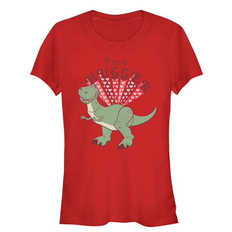 Toy Story Valentine Rex Hugger Juniors Graphic T Shirt