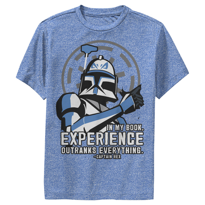 Star Wars: The Clone Wars Clone Wars Captain Rex Experience Boys Graphic Performance Tee
