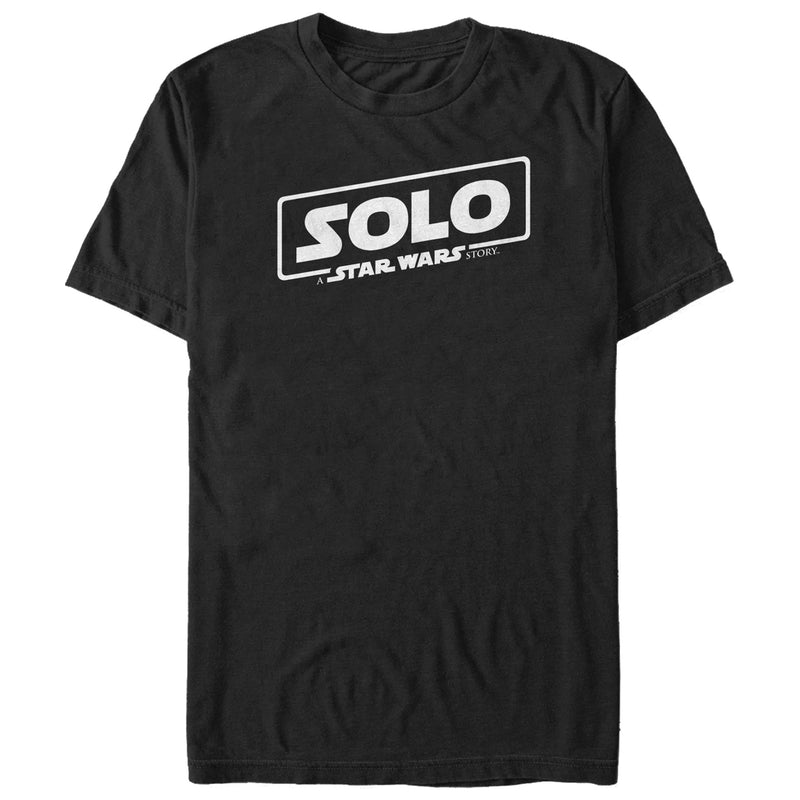 Solo: A Star Wars Story Classic Logo Mens Graphic T Shirt