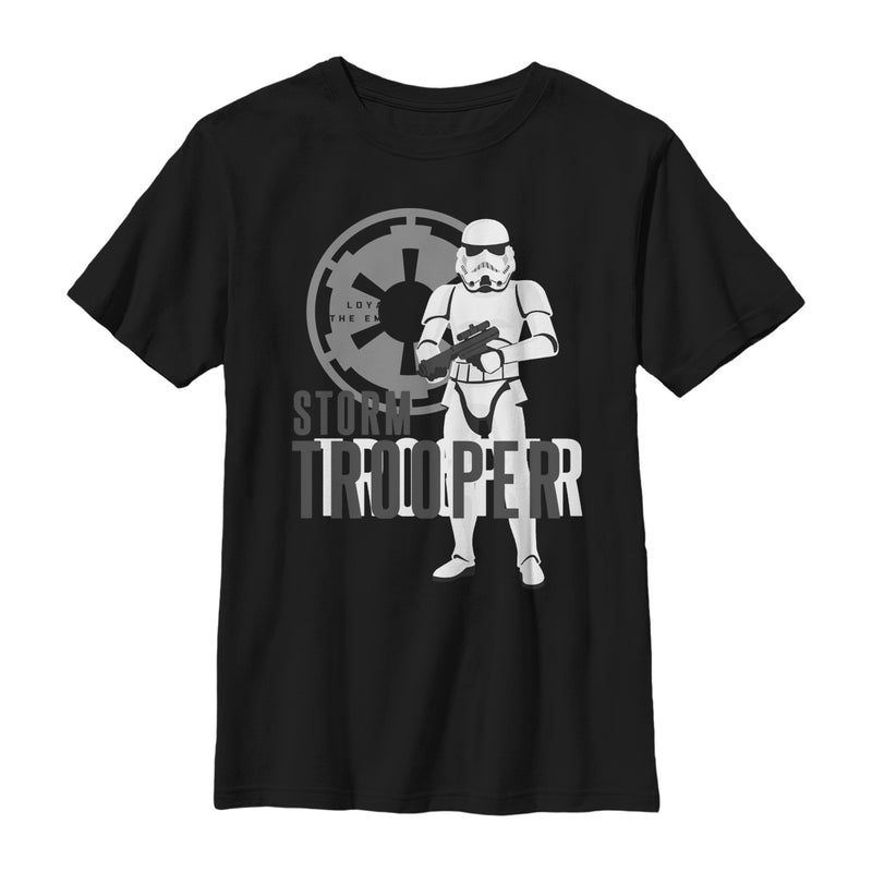 Star Wars Galaxy of Adventures Stormtrooper Shadow Boys Graphic T Shirt