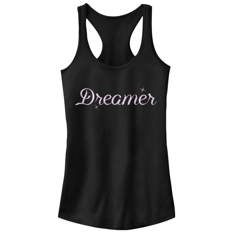 CHIN UP Dreamer Stars Juniors Graphic Racerback Tank